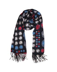 Bubble Scarf Black