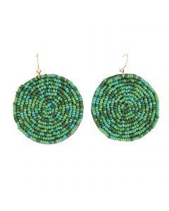 Bli Bli Earrings Green