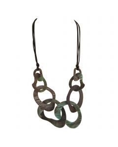 Oxley Necklace Green